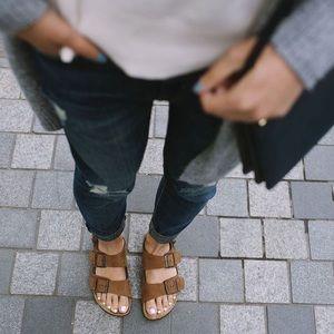 Birkenstock Milano Cognac Sandals